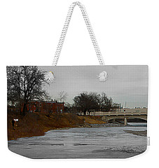 Weekender Tote Bag featuring the digital art Artist On The Bow by Stuart Turnbull