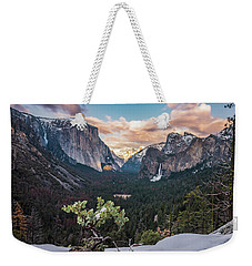 Artist Point Weekender Tote Bag by Alpha Wanderlust