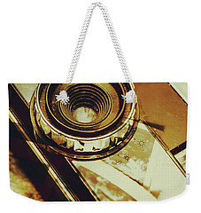 Artistic Double Exposure Of A Vintage Photo Tour Weekender Tote Bag