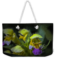Weekender Tote Bag featuring the photograph Artistic Hover by Leif Sohlman