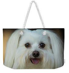 Artistic Puppy Weekender Tote Bag