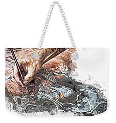 Artist's Hand  Weekender Tote Bag