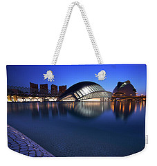 Arts And Science Museum Valencia Weekender Tote Bag by Graham Hawcroft pixsellpix