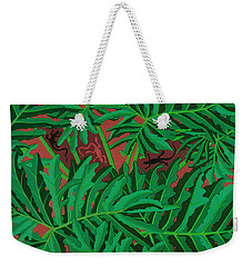 philodendron pictures - Lizard Leaves Weekender Tote Bag