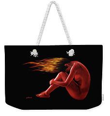 In Flame Weekender Tote Bag