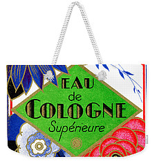 1925 Superieure Flowers Of France Perfume Weekender Tote Bag