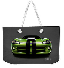 Dodge Viper Weekender Tote Bag by Mark Rogan