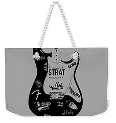 Fender Stratocaster 54 Weekender Tote Bag by Mark Rogan