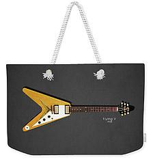 Gibson Flying V Weekender Tote Bag