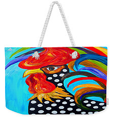 Spots Weekender Tote Bag by Eloise Schneider