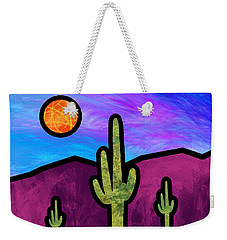 Desert Stained Glass Weekender Tote Bag