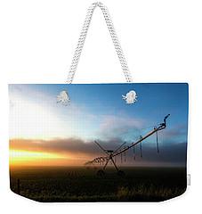 Sunrise Sprinkler Weekender Tote Bag by Bill Kesler