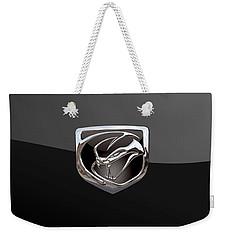 Dodge Viper - 3d Badge On Black Weekender Tote Bag
