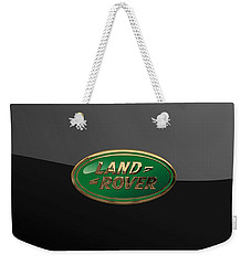 Land Rover - 3d Badge On Black Weekender Tote Bag