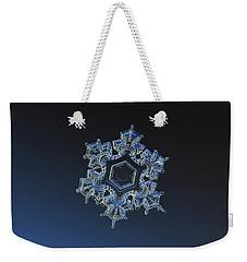 Snowflake Photo - Spark Weekender Tote Bag