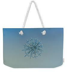 Snowflake Photo - Twelve Months Weekender Tote Bag