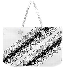 Insulators In Parallel Weekender Tote Bag by Bill Kesler