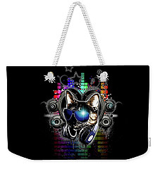Drop The Bass Weekender Tote Bag