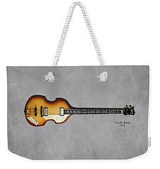 Hofner Violin Bass 62 Weekender Tote Bag by Mark Rogan