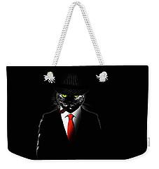 Mobster Cat Weekender Tote Bag