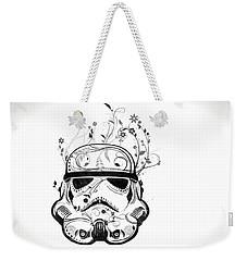 Flower Trooper Weekender Tote Bag