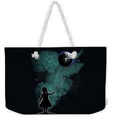 The Girl That Holds The World Weekender Tote Bag