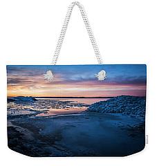 Break Up Weekender Tote Bag by Bill Kesler