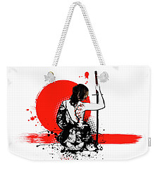 Trash Polka - Female Samurai Weekender Tote Bag