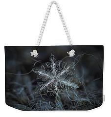 Leaves Of Ice Weekender Tote Bag
