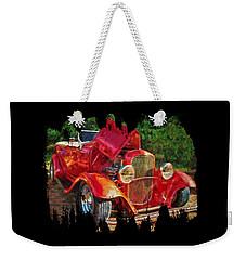 The Red Bell Roadster Weekender Tote Bag