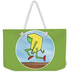 Weekender Tote Bag featuring the drawing Skip by Uncle J's Monsters