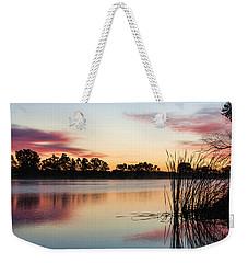 Brady In The Morning Weekender Tote Bag by Bill Kesler