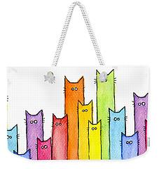 Rainbow Of Cats Weekender Tote Bag