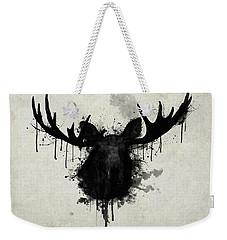 Moose Weekender Tote Bag by Nicklas Gustafsson
