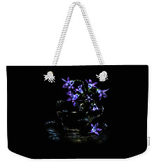 Weekender Tote Bag featuring the photograph Bluebells by Alexey Kljatov