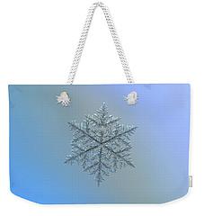 Snowflake Photo - Majestic Crystal Weekender Tote Bag