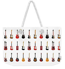 Guitar Icons No2 Weekender Tote Bag by Mark Rogan