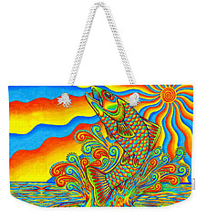Rainbow Trout Weekender Tote Bag