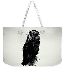 The Owl Weekender Tote Bag by Nicklas Gustafsson