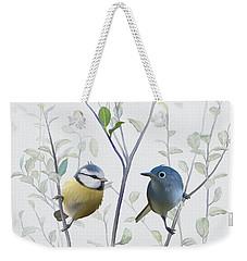 Birds In Tree Weekender Tote Bag