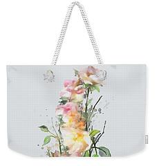 Wild Roses Weekender Tote Bag by Ivana Westin