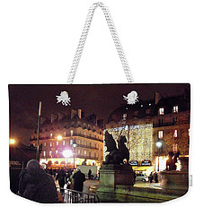Place Saint-michel Weekender Tote Bag by Felipe Adan Lerma