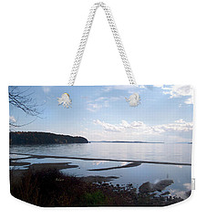 Rock Point North View Horizontal Weekender Tote Bag by Felipe Adan Lerma
