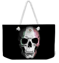 Weekender Tote Bag featuring the digital art Mexican Skull by Nicklas Gustafsson