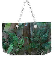 Weekender Tote Bag featuring the painting Jungle by Ivana Westin