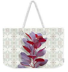 Royal Purple Weekender Tote Bag by Ivana Westin