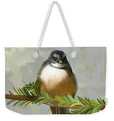 Fantail  Weekender Tote Bag by Ivana Westin