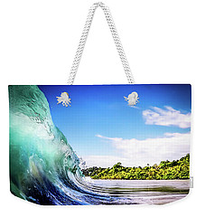 Weekender Tote Bag featuring the photograph Tropical Wave by Nicklas Gustafsson