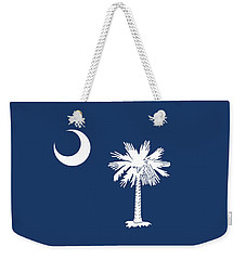 Flag Of South Carolina Authentic Version Weekender Tote Bag