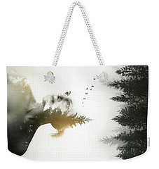 Weekender Tote Bag featuring the photograph Soul Of Nature by Nicklas Gustafsson